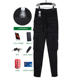 Trousers Slim Fit Latest Street Style 6 Pockets Trousers Men Sweat Pants Zipper Cuffs Men's Trousers