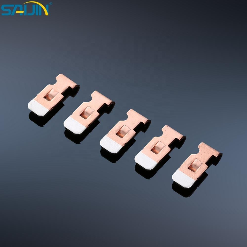 Copper [ Bimetal Strip ] Contact Strip Electrical Components Silver Copper Bimetal Strip Contact