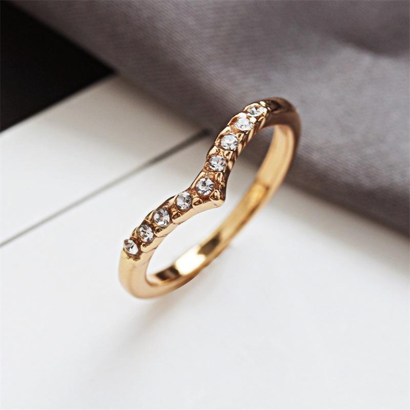 VRIUA Crystal Cross Cubic Children Girls Zircon Adjustable Women copper Ring hollow punk Engagement Ring Religion Jewelry