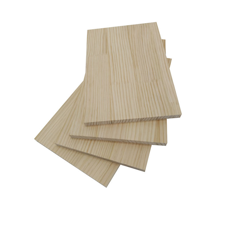 Manufacturer Pine Wood Timber Pine Finger Joint Board Wood Board