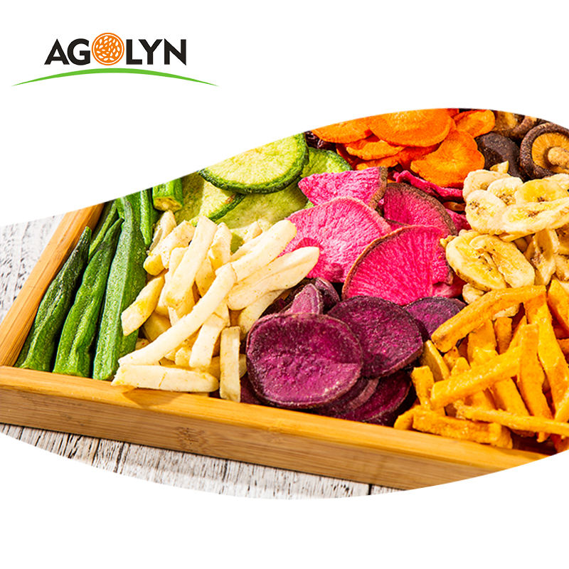 AGOLYN Vacuum Fried Mixed Vegetables And Fruit Chips