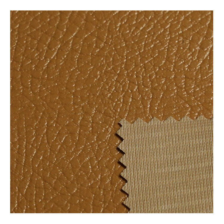 Furniture Upholstery PVC Embossed Artificial Leather For Seat And Sofa