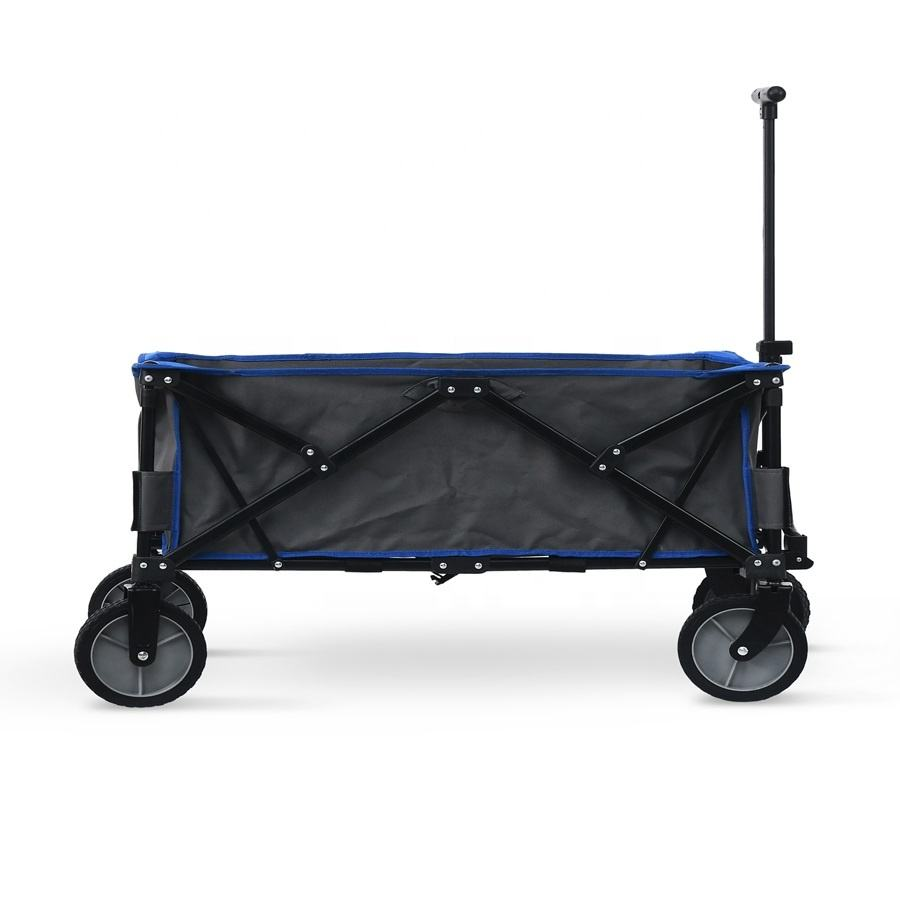 OEM Steel High Quality Outdoor Portable Trolley Beach Camping Folding Chair