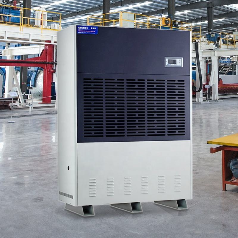 TOP selling Industrial Dry type dehumidifier 30L/HOUR work in 38-70 centigrade