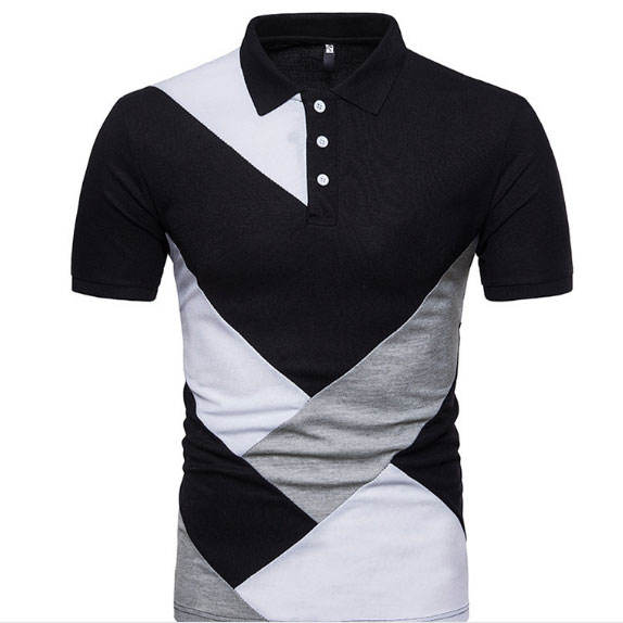 Hot Selling Fancy Colorful Polo Designs Short Sleeve T Shirt Polo For Men