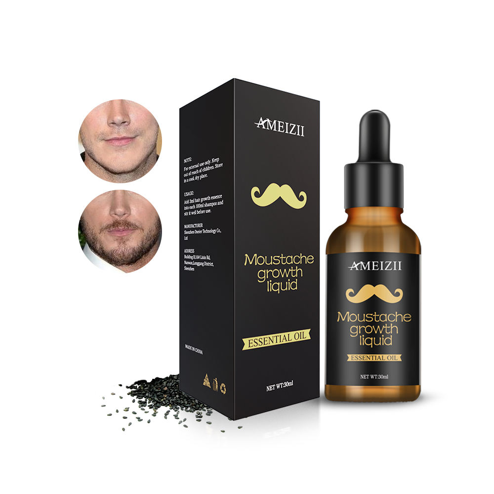Wholesale Beard Growth Oil Natural Plant Extraction Facial Hair Care Growth Essential Oil Nourishing Fluid Aceites Para La Barba