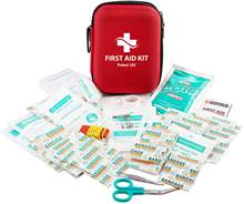 600D Portable Medical EVA First Aid Survival Kit with Supplies