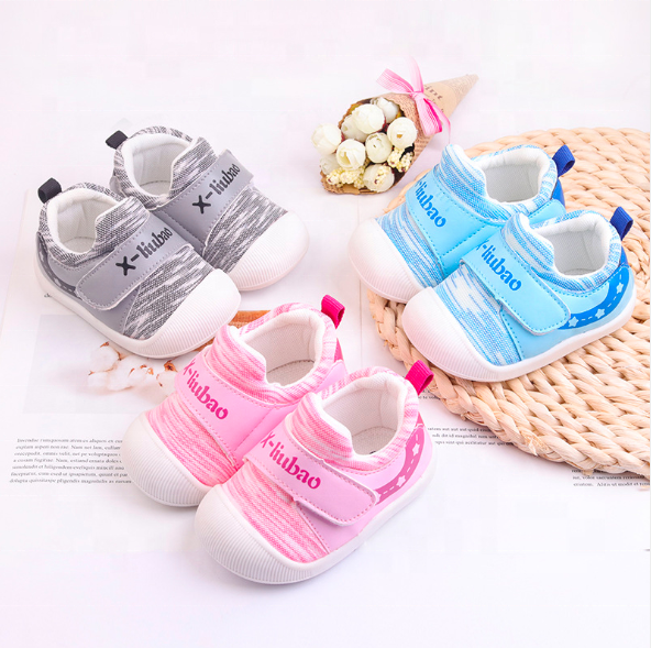 wholesale New arrival 1-3 years anti slip soft sole infant baby boy and girls first walk prewalker shoes supplier