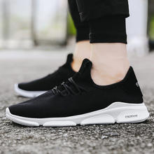 China factory direct fashion designer mesh upper black breathable casual man brand customized shoe sport shoes for sale