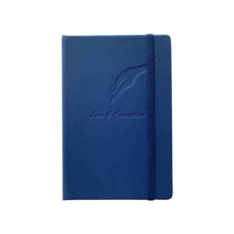 Manufacture 2020 new printing soft touch leather journal book
