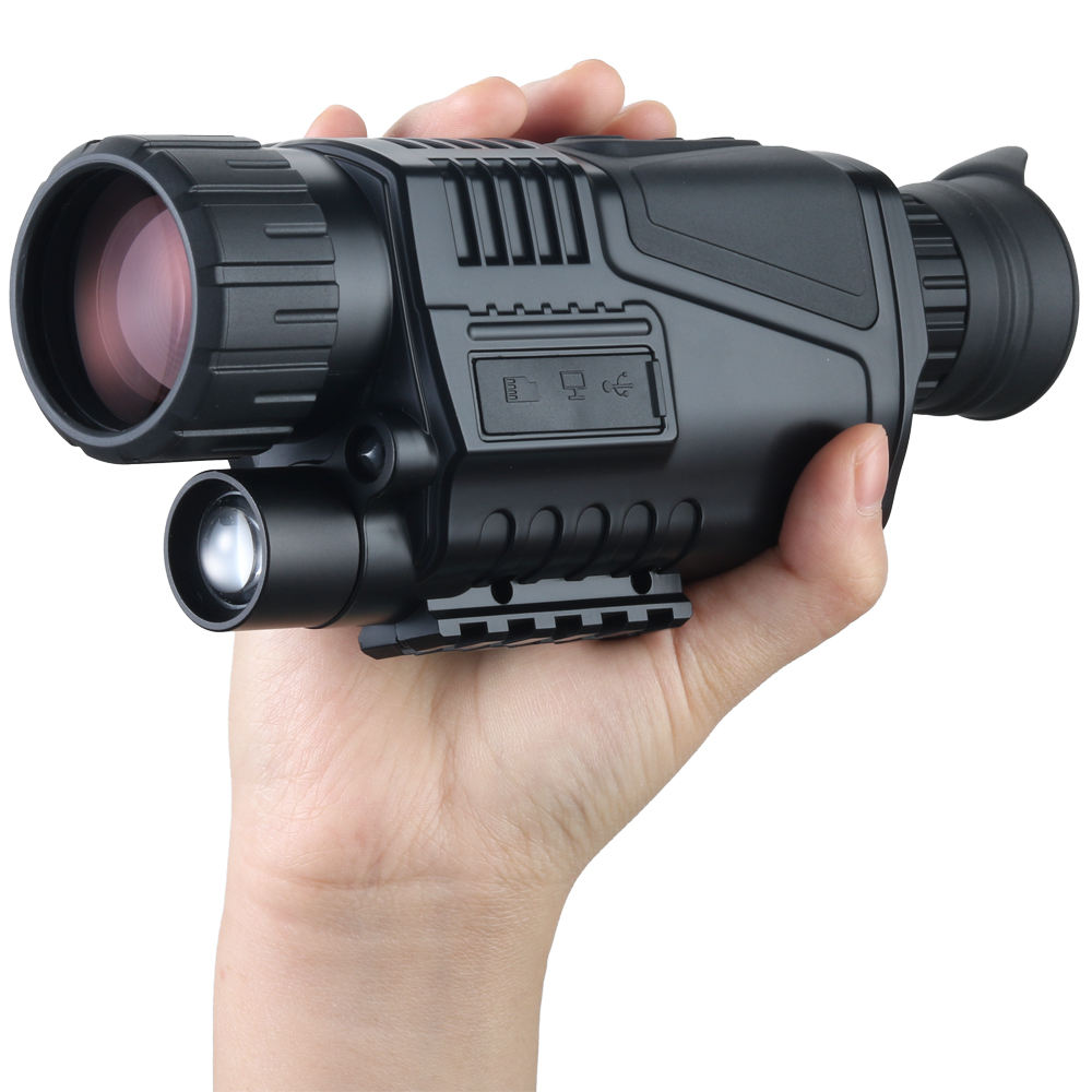 5X40 IR Infrared Digital Night Vision Monocular for Wildlife Goggles Scope 200M range Wildlife Night Vision Optics Factory price