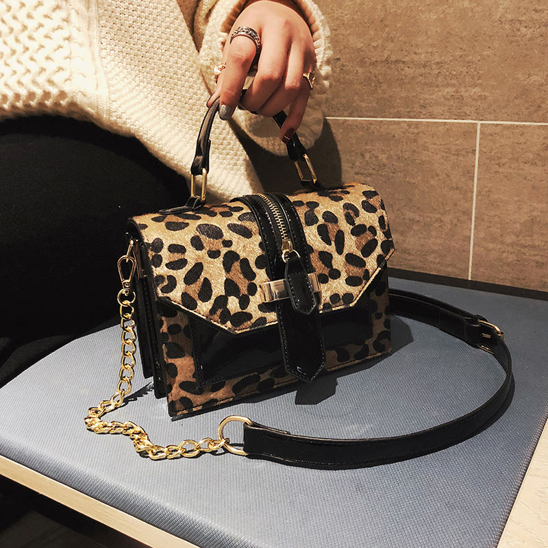2020 Leopard Printed Women Purse Classical Design Lady Hobo Satchel Cute Handbags
