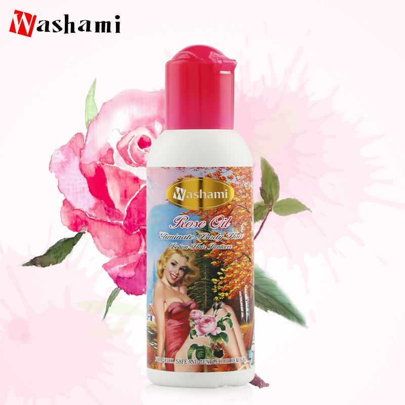 Natural Organic Silky Smooth Care Rose Oil Body Hair Removal