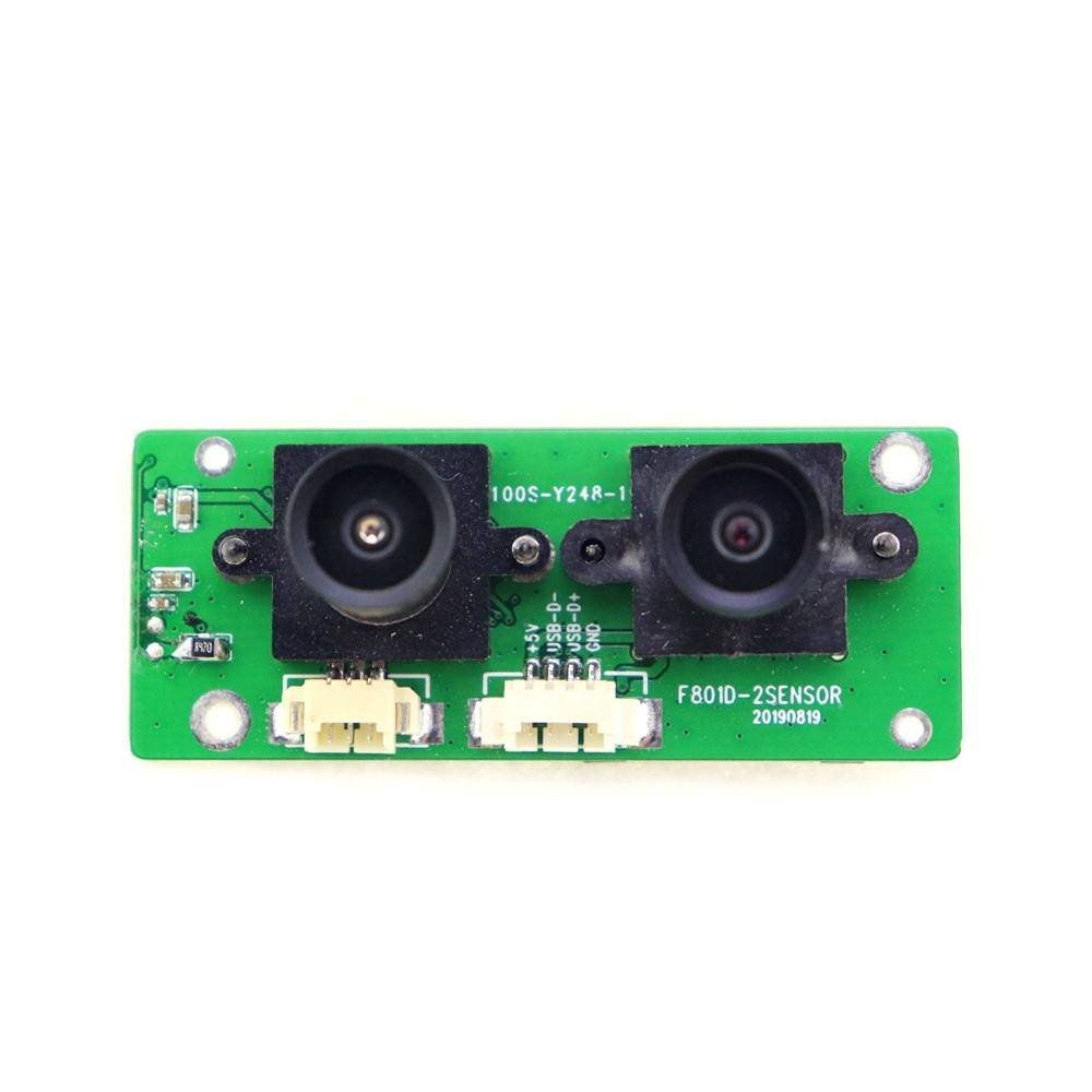 Wide View Angle Dual Lens USB Camera Module Stereo Webcam 720P OTG UVC 3D VR camera