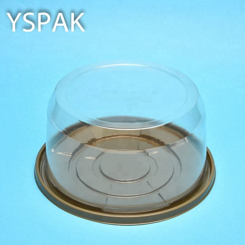 Wegwerp Clear Custom Plastic <span class=keywords><strong>Taartdoos</strong></span> Dome Cover Cake Verpakking Box