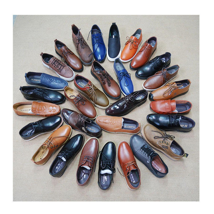 MH391 China factory Wenzhou genuine leather shoes men's shoes