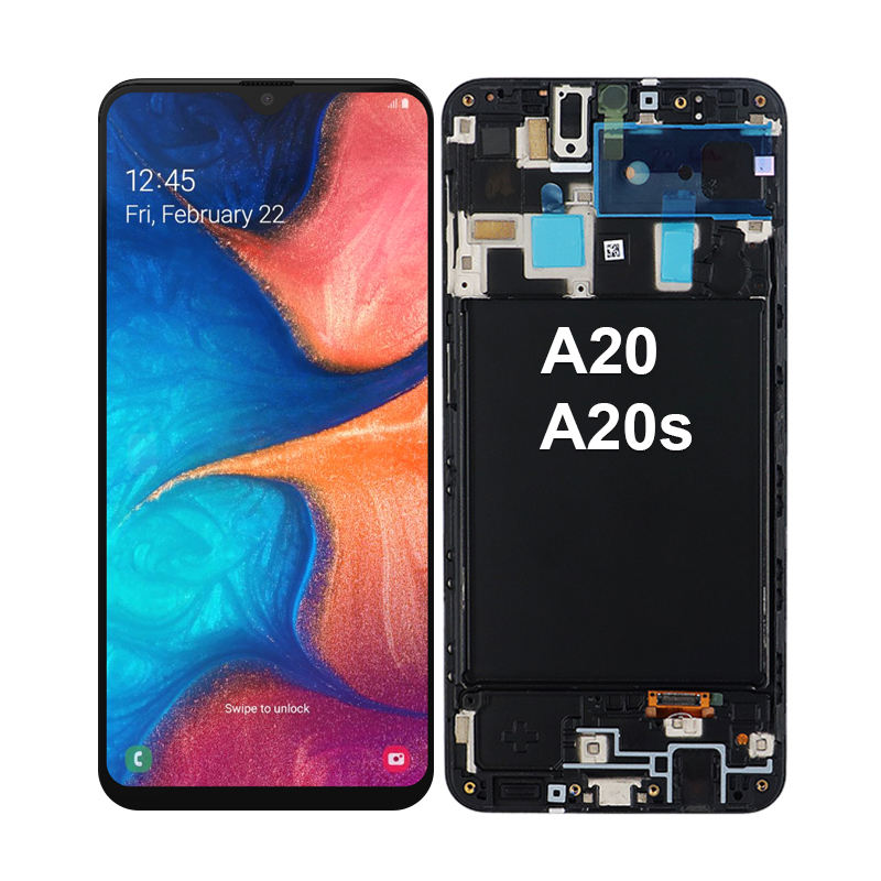 for samsung galaxy A20 screen original for samsung A20 lcd display for samsung a20s lcd touch screen