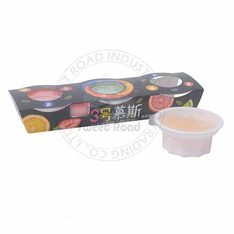 Fruity Jelly Pudding in Cup