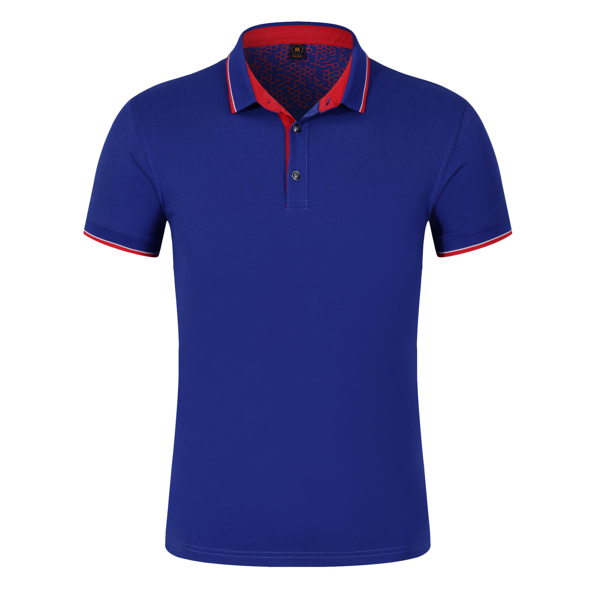 Colorful in stock breathable design man tops oversized cotton plain polo shirt
