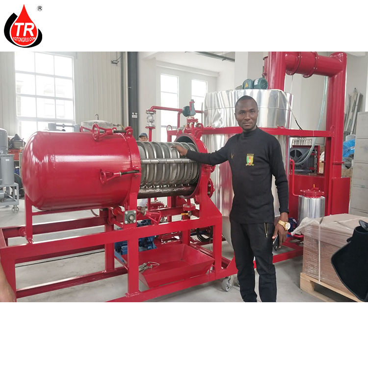 Waste Car Motor Oil Recycling Regenerate Black Oil to Yellow Base Oil Machine