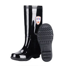 Good Quality Wear-resistant Black Rubber High Elastic Cloth Lining Waterproof Rain Boots