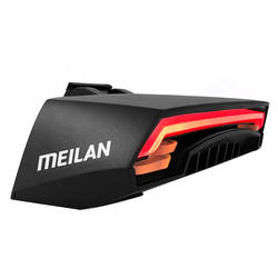Bicycle Rear Light Bike Remote Wireless Light Turn Signal LED Beam USB Chargeable Cycling Tail Light  Y6260