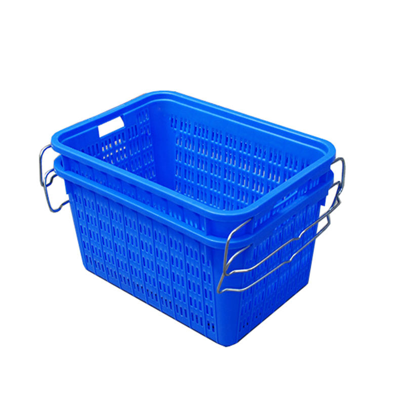 HDPE stackable shipping transport vegetable fruit plastic crates