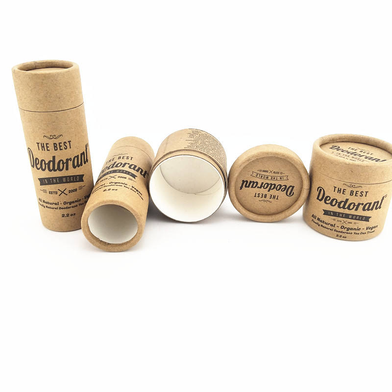 biodegradable cosmetic containers deodorant/lipstick/lip balm container