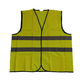 Yellow high visibility on construction sites reflective safety vest customer logo printing construction safety vest