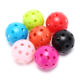 Hot Selling Plastic Golf Practice Balls Airflow Ball Hollow Golf Balls