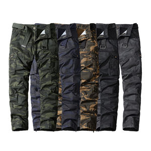 Men's Stop Military Tactical Pants Army Fans Combat Pant Hiking Hunting Multi Pockets Cargo Worker Pant