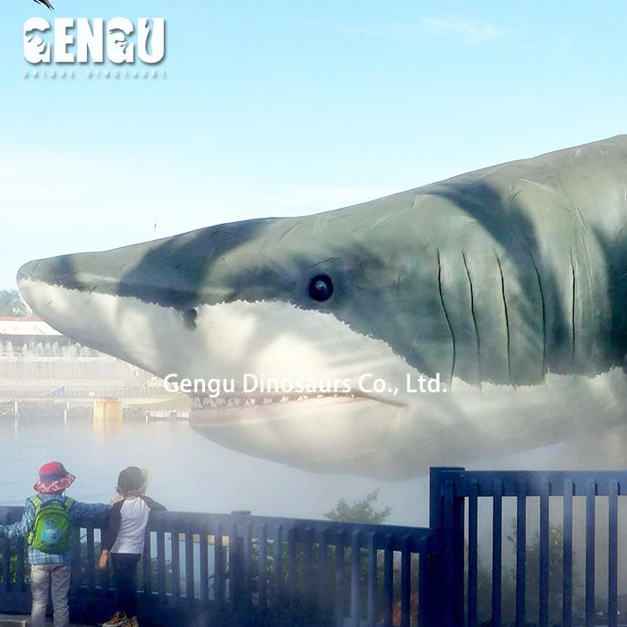 High Simulation Marine Animal Model Animatronic Shark