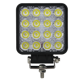 Manufacturer IP68 Waterproof 48W LED Work light for Truck jeep Offroad car