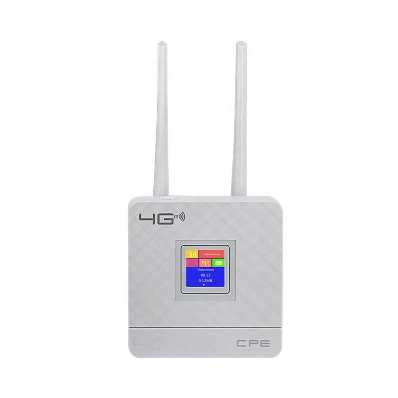 4G LTE CPE Wifi mini wireless router stronger signal ethernet port insert SIM card