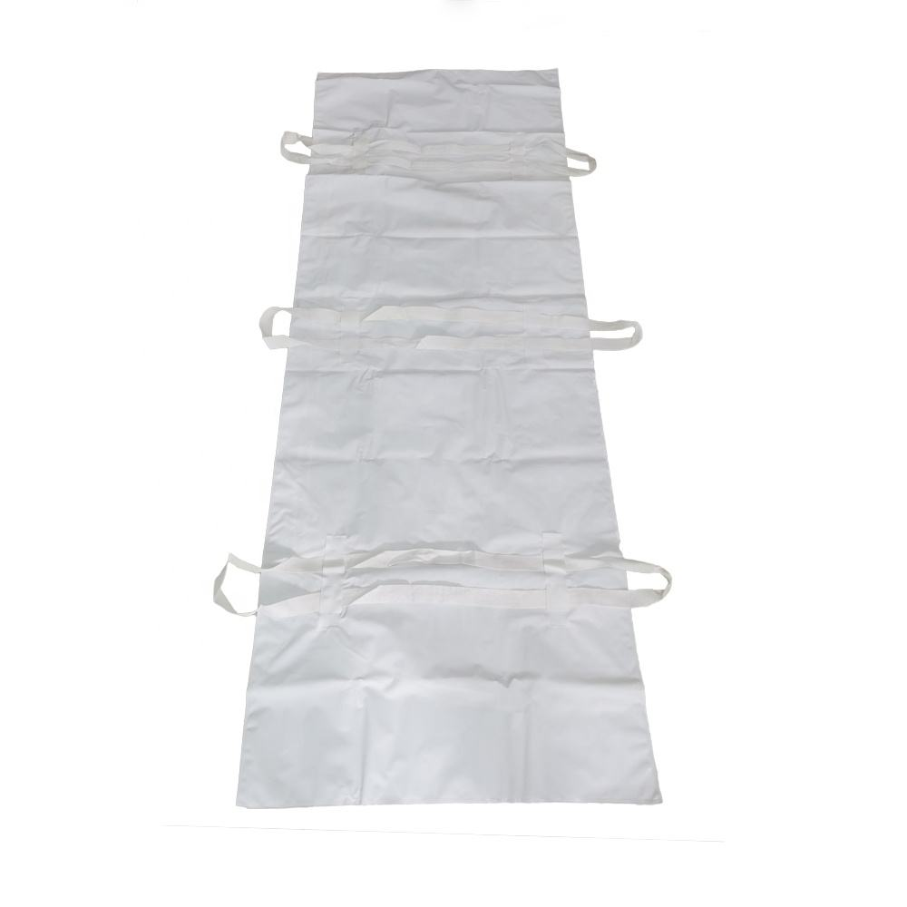 PEVA Disposable Body Bag with handles Cadaver Bag with Zipper