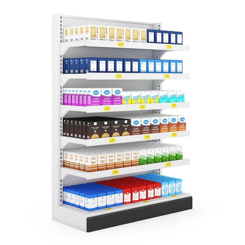 TMJ-966 Grocery Store Display Racks Shelves For General Store Supermarket Shelf Gondola Shelving