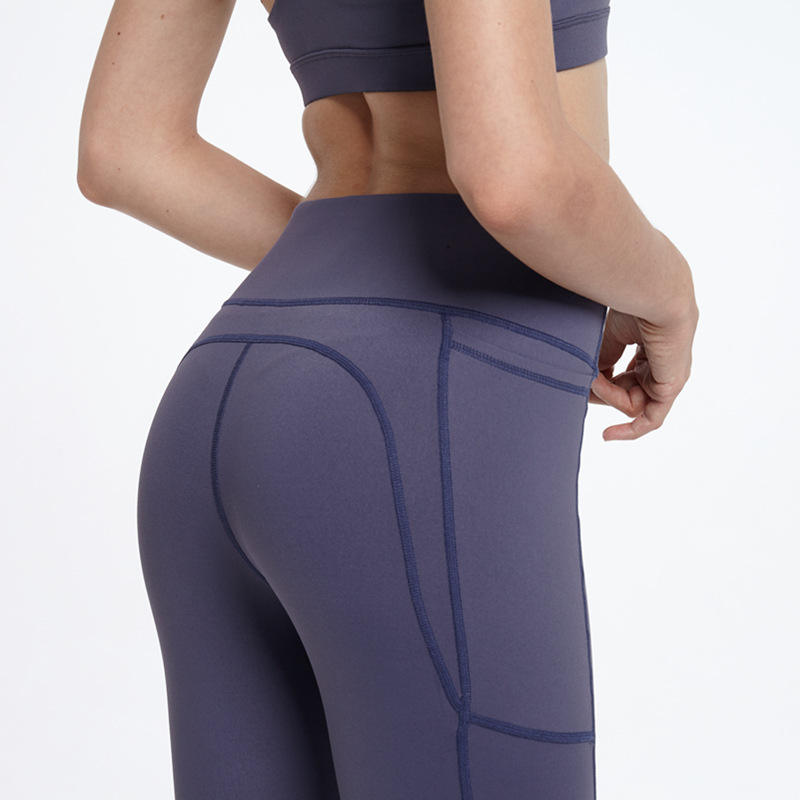 Body Shaping Compression Yoga Pants Amazon Hot Selling Gym Pants