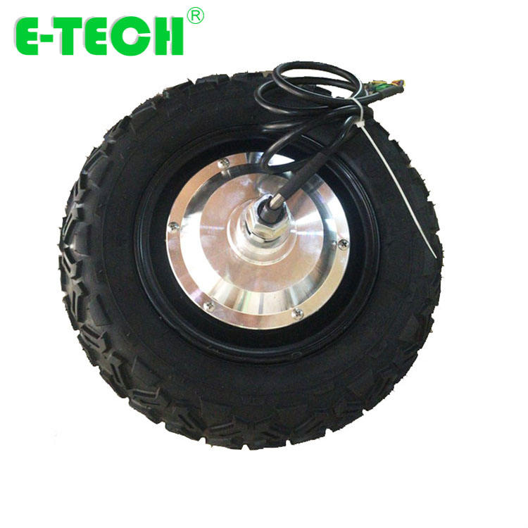 Etech Agriculture Wheelbarrow 10 Inch Geared DC brushless Hub Motor