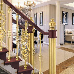 Rose Gold Color Stainless Steel Stair Railing