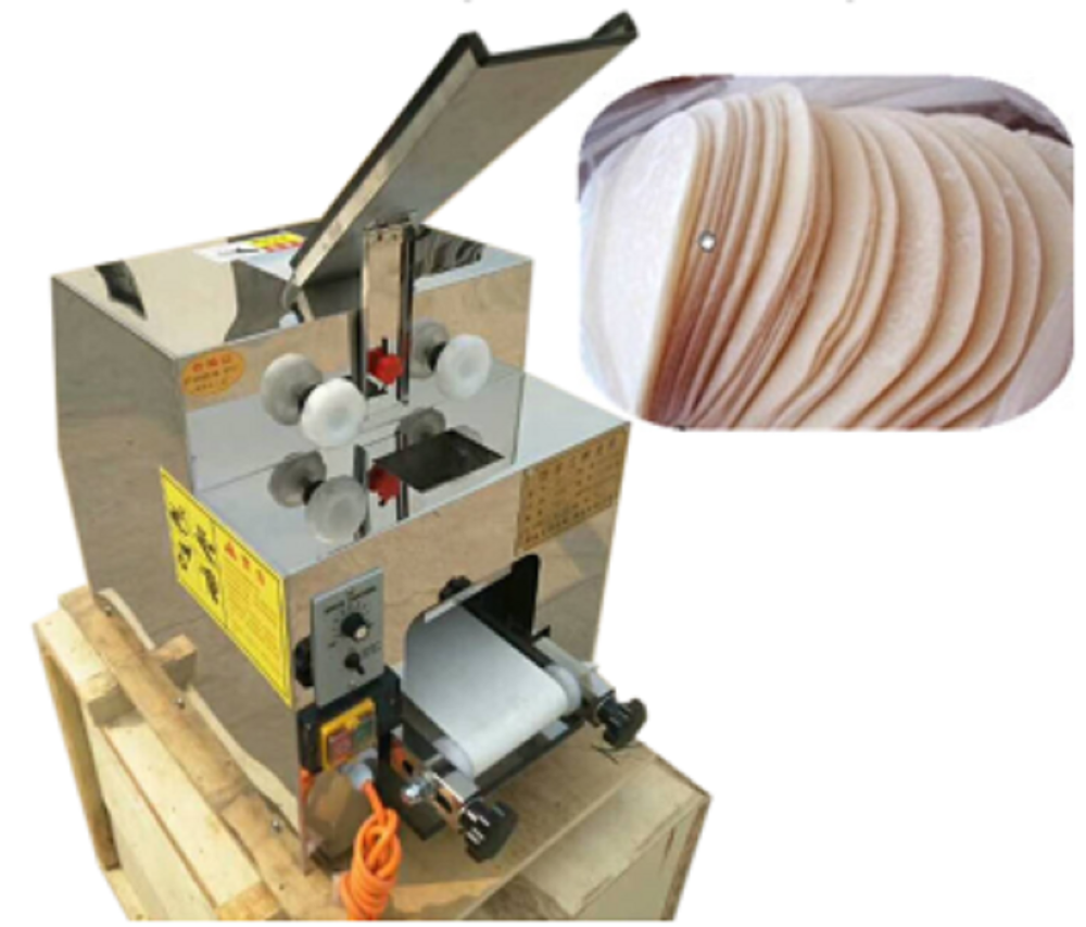 Automatic Small Dumpling Skin Home Wonton Wrapper Making Machine