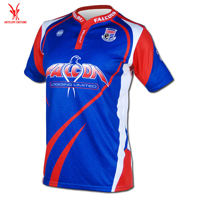 Sublimation Custom Design Rugby Jersey Sublimation Printing Design Rugby Shirt