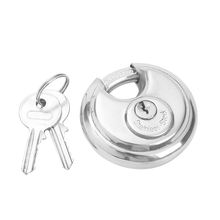 Home  Storage  Pick-proof  Security Stainless Steel Disc Padlock