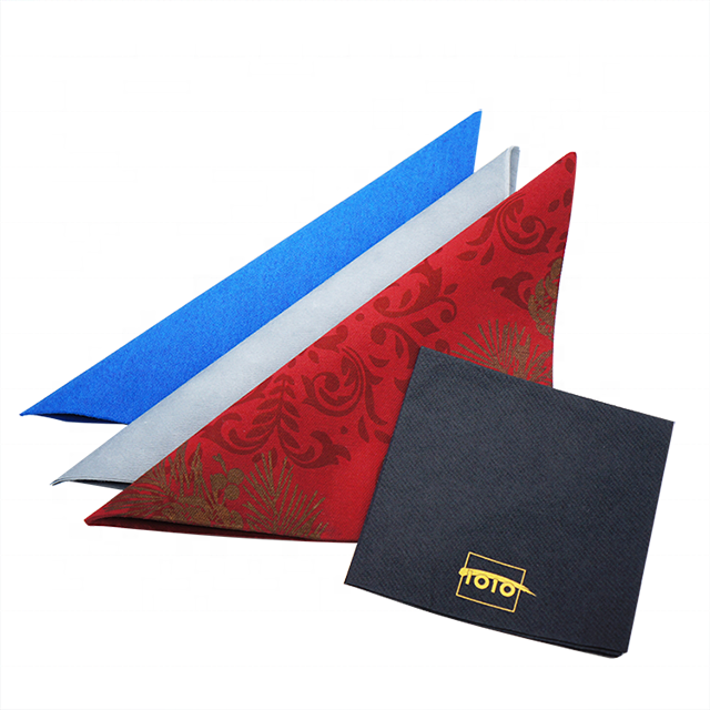 High quality environmental paper napkin high class restaurant paper disposable dustless paper towel
