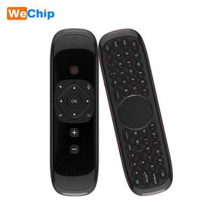 Joinwe Air Fly mouse keyboard android tv box W2 fly air mouse smart tv keyboard remote control