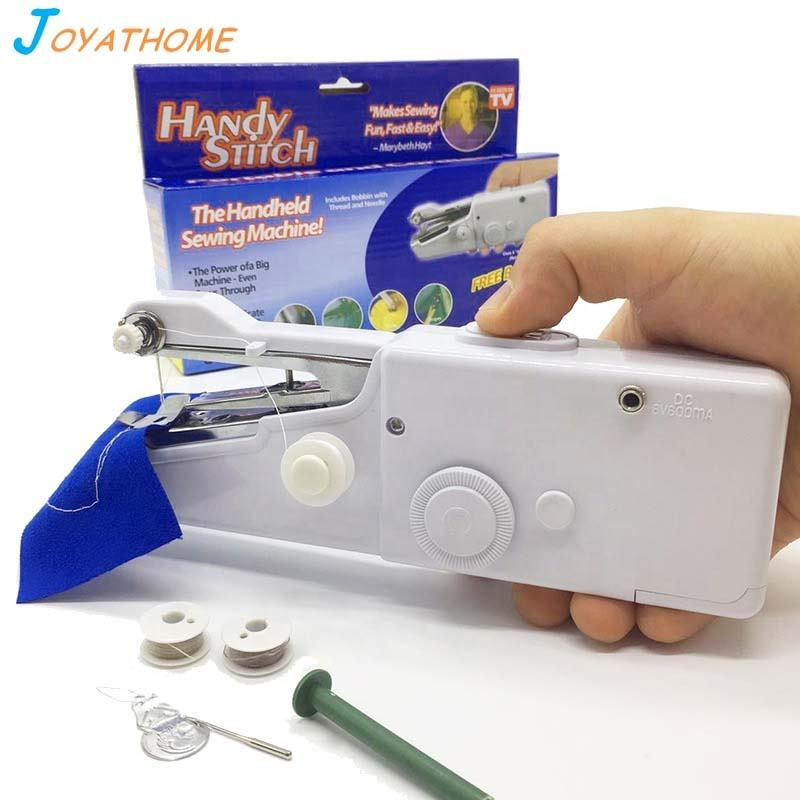 Mini Handheld Manual Shoes Sack Sewing Machine Portable for Home for Sale Locking Button Hole Hand Operated Stitch Sewing