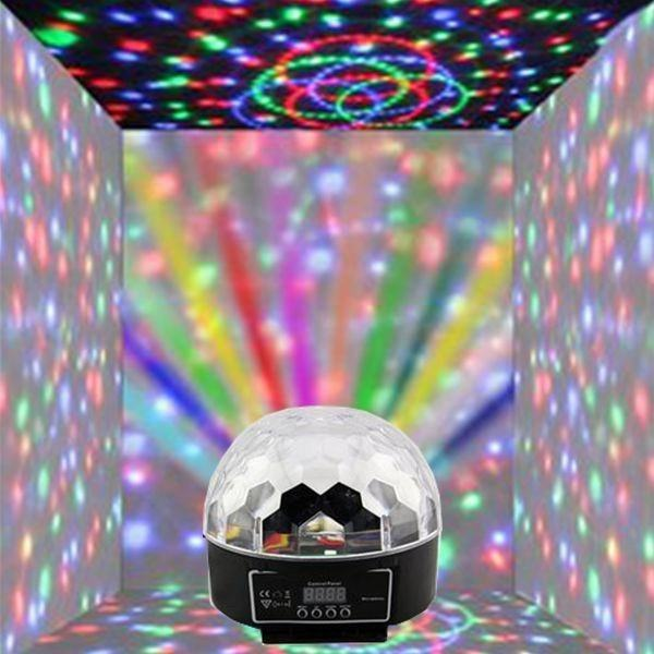 Tahap Bola Lampu LED Warna Mengubah LED Crystal Ball Disco LED Bola Lampu