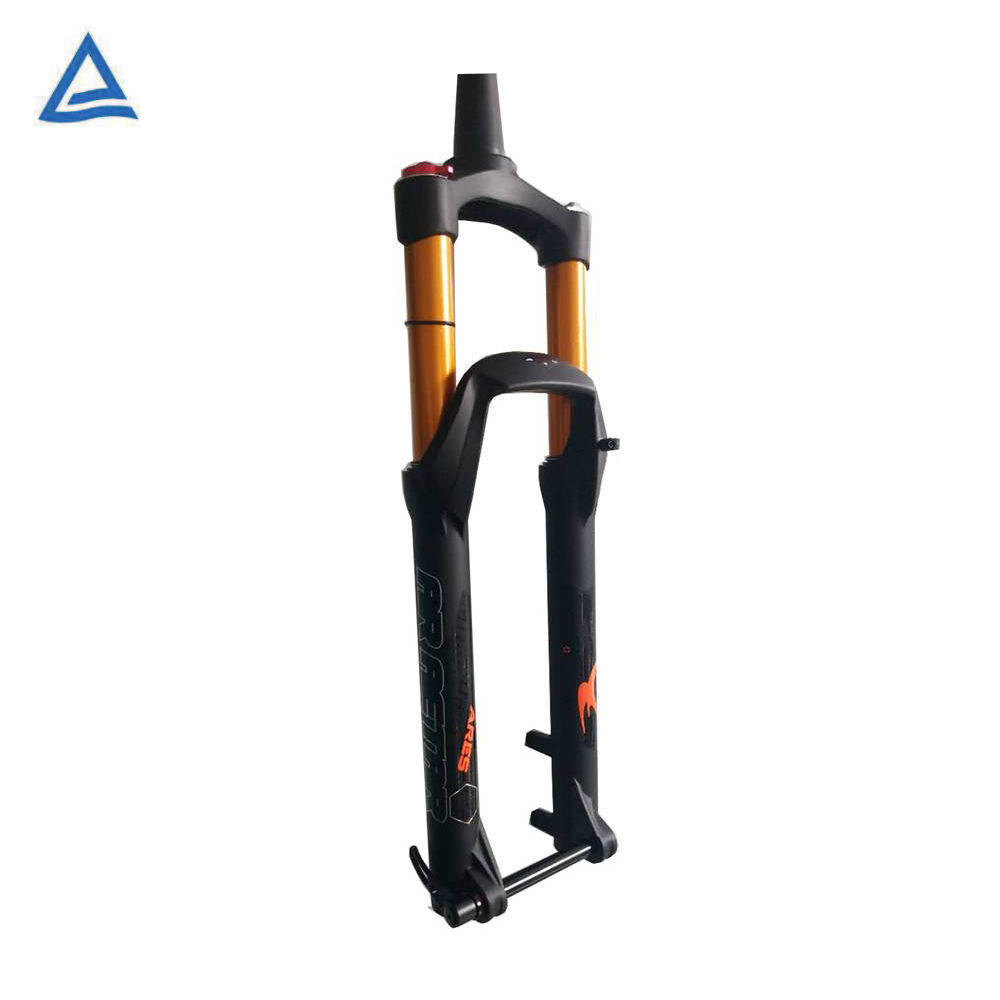 Bike forks downhill and Thru axle MTB E bike 26 suspension front fork
