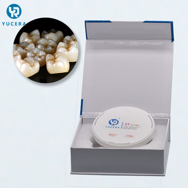 ST-Color zirconia dental block and cad cam dental milling machine used in dental zirconia disc