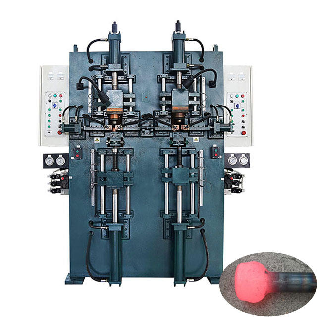 Double Station Hydraulic Control Electrical Upsetting Machine