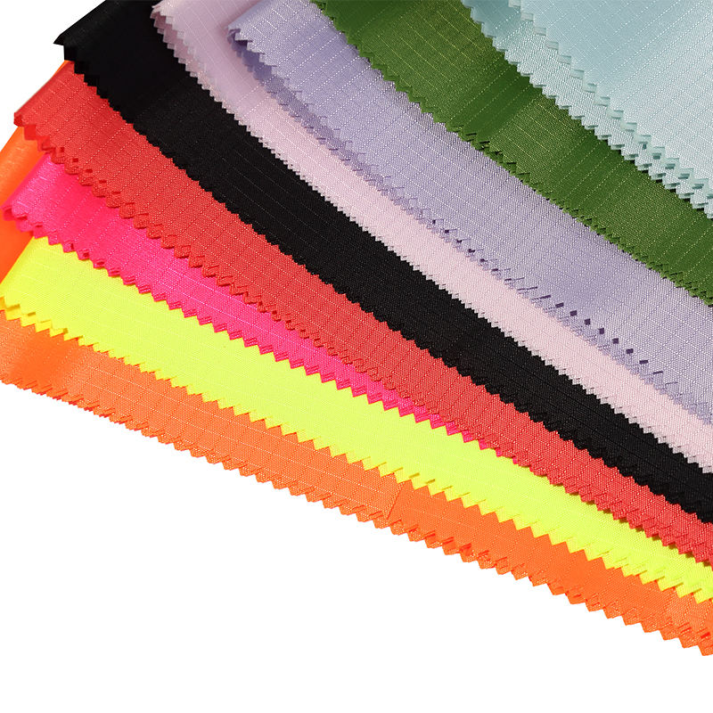 100% polyester waterproof 210D 0.4 grid PVC coating oxford fabric for bag